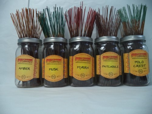 wildberry-incense-sticks-earthy-scents-set-1-4-sticks-each-of-5-scents-total-20-sticks
