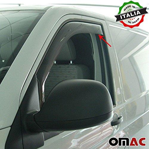 Omac GmbH VW CARAVELLE Multivan T5 T6 Deflettori Pioggia Deflettori Set 2 pezzi anteriore dal 2003
