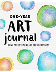 One-Year Art Journal: Daily Prompts to Spark Your Creativity