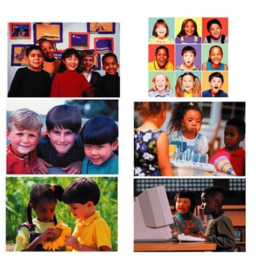 Melissa & Doug Diversity Puzzle Set of 6 ()
