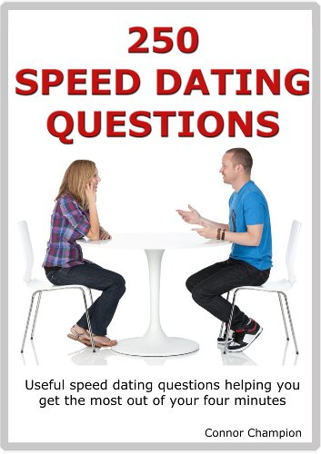 Great speed dating questions