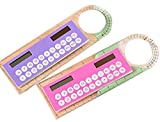 Creative 10cm Ruler Calculator Mini Student Fashion Portable Arithmetic Multi-function Calculator (multi-colored)