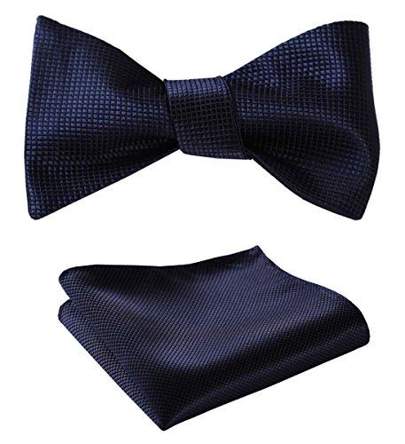 Navy Blue Bow Tie - 8