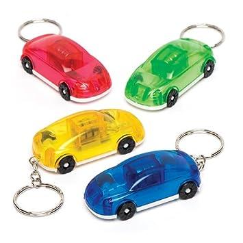 Baker Ross Llaveros luminosos en forma de coche - Perfectos ...