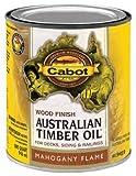 Cabot 19459 Australian Timber Oil Wood Finish, 1-Quart, Mahogany Flame by Cabot Samuel Inc
