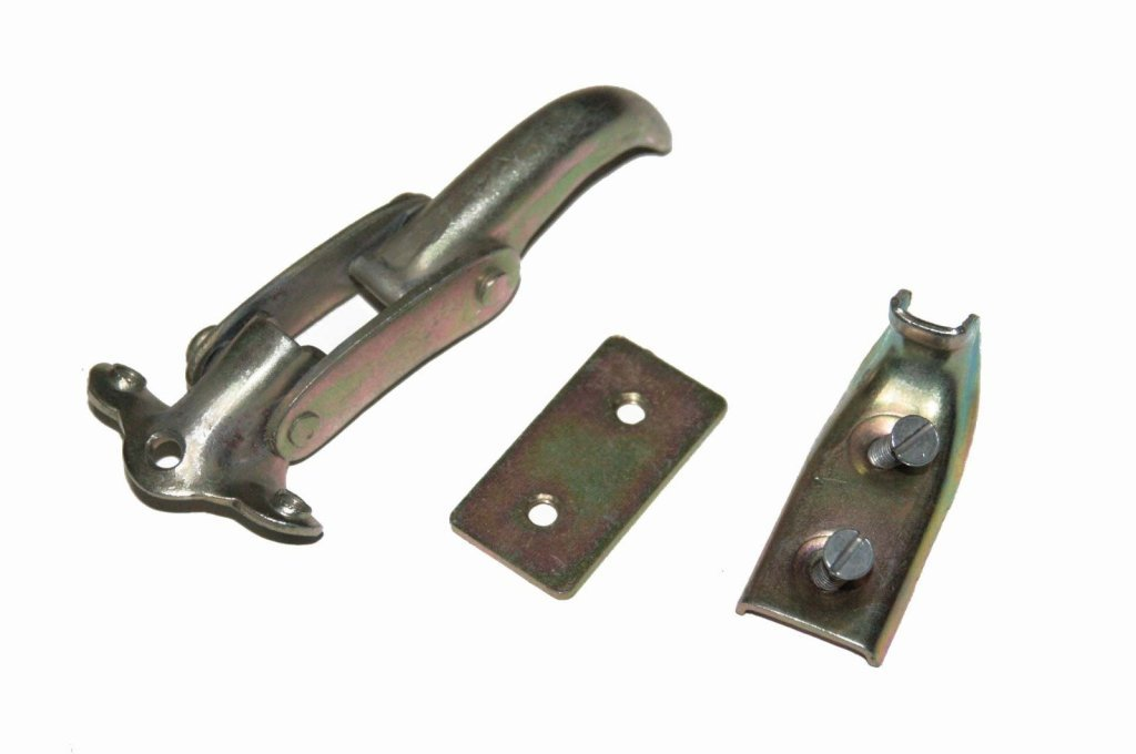 RS Vintage Parts RSV-B00ZFS8JR8-00578 12021.04 Interior Windshield Interior Latch Willys Jeep 50-52 M38S CJs Ford