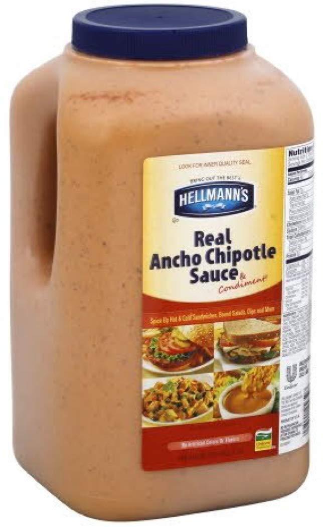 Amazon Com Hellmanns Ancho Chipotle Sandwich Sauce 1 Gallon 2 Per Case Gourmet Sauces Grocery Gourmet Food