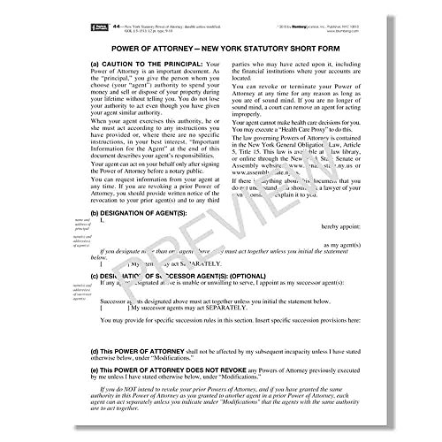 Amazon Blumberg New York Legal Forms Form 439 48 Per Pkg