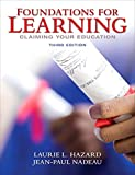Foundations for Learning: Claiming Your Education Plus NEW MyLab Student Success Update -- Access Card Package (3rd Edition)