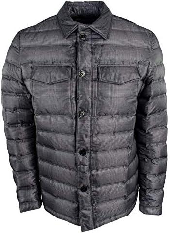 남성용 다운 필드 셔츠 재킷 / 남성용 다운 필드 셔츠 재킷