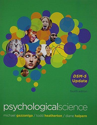 Psychological Science: DSM-5 Update