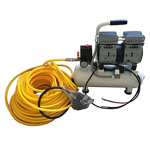 JUFENG 12V 550W Electronic Compressor, Hookah Dive System, Third Lung Serface Air with 30m Silicone Hose and ()