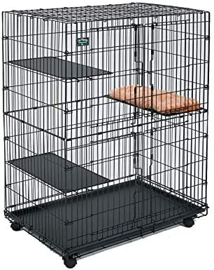 MidWest Homes for Pets 130 is the best Cat Cage? Our review at cattime.com uncovers all pros and cons.