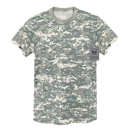 - Rapiddominance Short Sleeve G.I. T-Shirts, ACU, X-Large