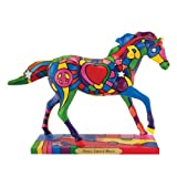 Trail of Painted Ponies Peace Love and Music Figurine, 6-1/2-Inch