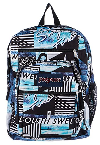 JanSport Big Student Classics Series Backpack (Multi South Swell) (Jansport Solid Backpacks)