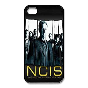iphone4 4s phone cases Black NCIS fashion cell phone cases HYTE5060728