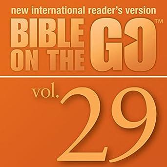Amazon com: Bible on the Go Audio Bible - New International Reader's