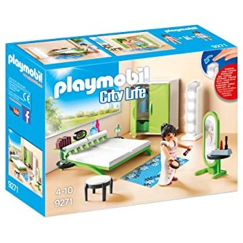 Amazon Com Playmobil Luxury Beach House Toys Games