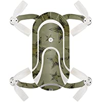 Skin For ZEROTECH Dobby Pocket Drone – Army Star | MightySkins Protective, Durable, and Unique Vinyl Decal wrap cover | Easy To Apply, Remove, and Change Styles | Made in the USA
