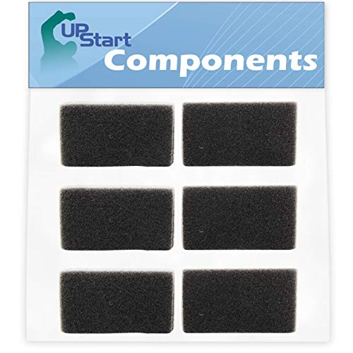 6 Replacement Reusable CPAP Foam Filters for Respironics PR System One REMstar BiPAP Pro with Bi-Flex by UpStart Components (Image #4)