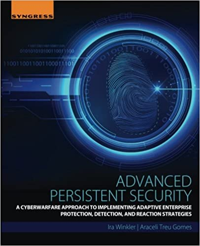 A Cyberwarfare Approach to Implementing Adaptive Enterprise Protection Detection Advanced Persistent Security and Reaction Strategies