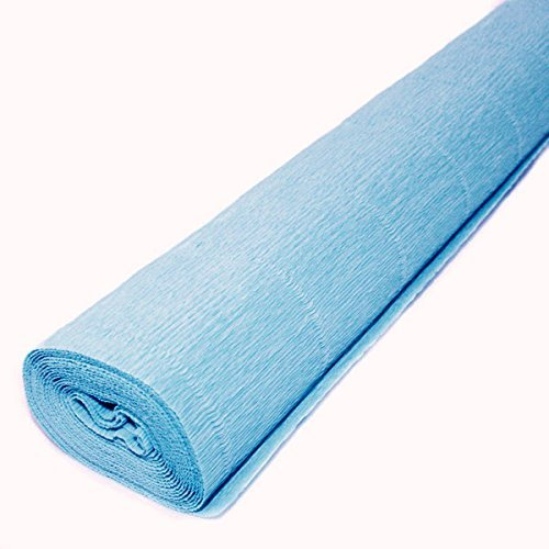 Top quality Italian paper craft FloristryWarehouse Dark Teal Green 560 Crepe paper roll 20 inches wide x 8ft long