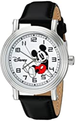 Disney Women's W002397 Mickey Mouse Stainless Steel Watch