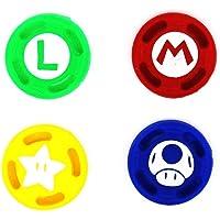 Capas analógicas para polegar para Nintendo Switch Joy-con (D)