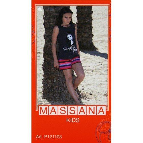CAL FUSTER - Pijama Massana de Verano Niña Talla 14: Amazon.es: Ropa y accesorios
