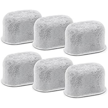 Charcoal Water Filters Replacements Fits Keurig 2.0 Models by Possiave, Pack of 6