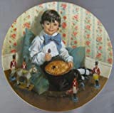 Little Jack Horner Collectible Plate by John McClelland