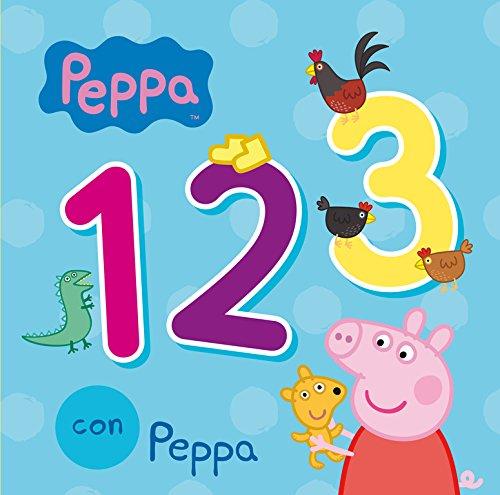 123 con Peppa (Peppa Pig. Todo cartón)