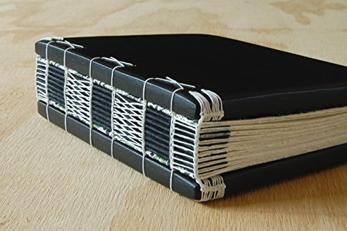 Maple Wood Wedding Guest Book or Handmade Journal by Three Trees Bindery
