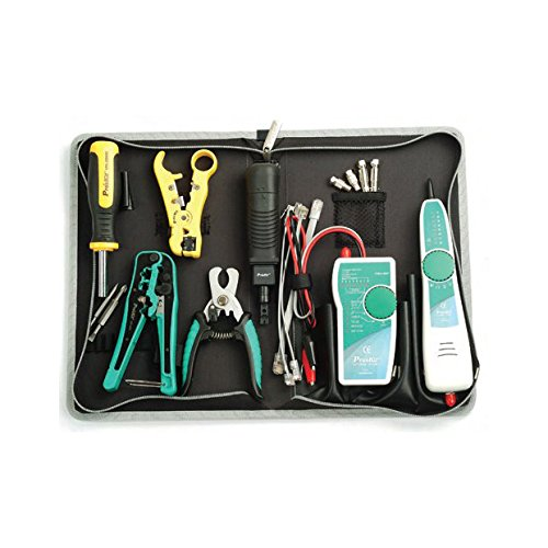 Eclipse Punch Down Tool - Eclipse Tools 902-241 Pro'sKit Cabling Service Kit