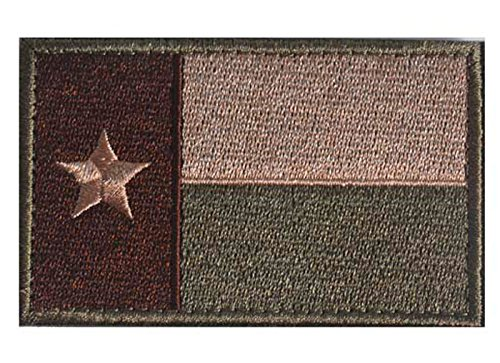 WZT Texas State Morale Patch Tactical