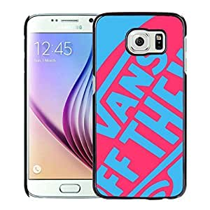 Fahionable Custom Designed Samsung Galaxy S6 Cover Case With vans 2 Black Phone Case