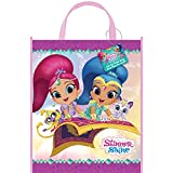 Large Plastic Shimmer and Shine Goodie Bag, 13