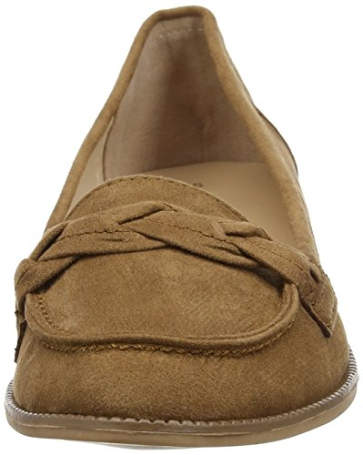 Dorothy Perkins Liana Plait - Mocasines Mujer Marrón (Brown)