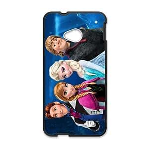 Frozen Princess Elsa Anna Kristoff Olaf Sven Hans Cell Phone Case for HTC One M7