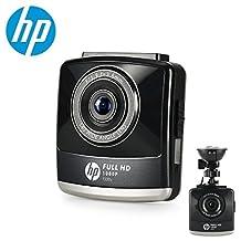 "HP Full HD 1080P Dash Cam with Night Vision Dashboard Camera Car Driving Recorder 2.4"" IPS LCD G-Sensor Parking Monitor WDR Motion Detection Loop Recording"