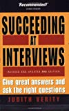 Succeeding at Interviews, Judith Verity, 1857039459
