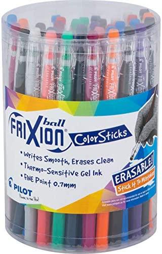 PILOT FriXion Color Sticks Erasable