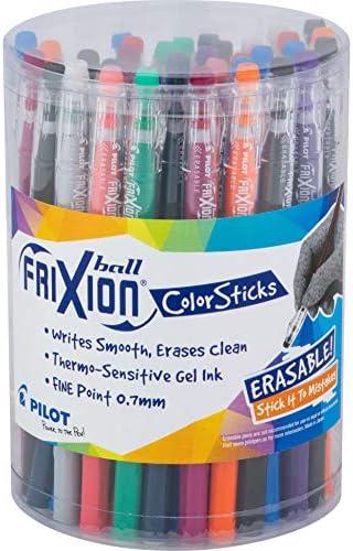اقلام حبر جل فريكسيون ملونة قابلة للمسح من بايلوت 36 Pack Amazon Ae