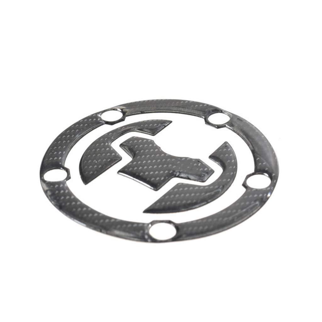 Real Carbon Fiber Tank Gas Cap Pad Filler Cover Sticker Decals For Suzuki GSX250R DL250 GW250