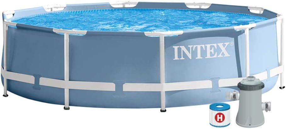 Intex 26736NP - Piscina desmontable Prisma Frame 457 x 122 cm ...