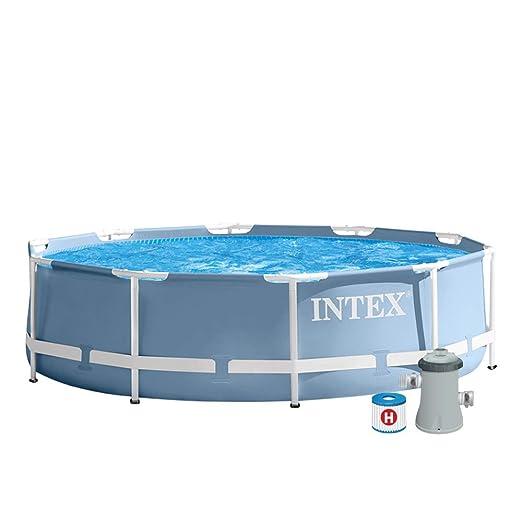 Intex 28702NP - Piscina desmontable con depuradora 305 x 76 cm ...
