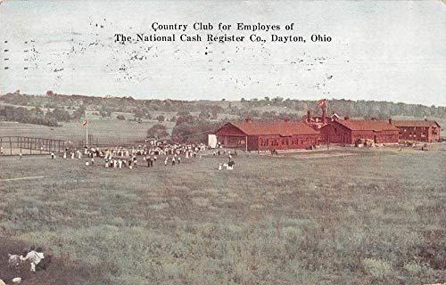 Dayton Ohio National Cash Register Co Country Club Vintage Postcard JE228291