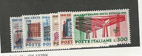 Italy, Postage Stamp, 839-844 Mint NH, 1961