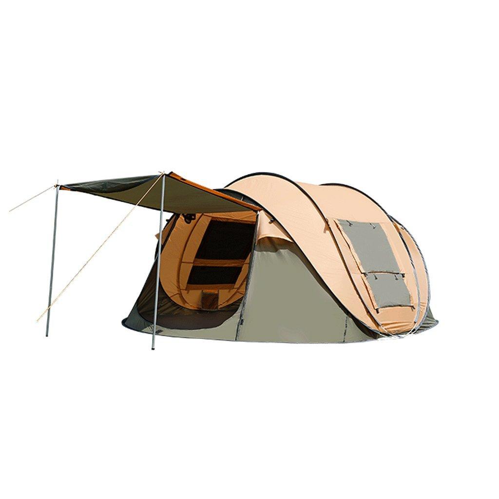 TLMY Im Freien kampierendes Starkes kampierendes Zelt des Zeltes im Freien automatische doppelte Regen Wilde Geschwindigkeit Zelte